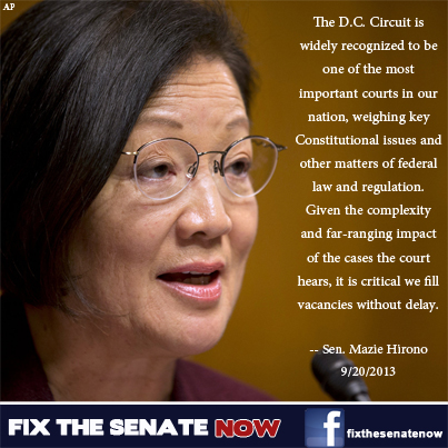 Senator Mazie Hirono on Senate Rules Reform